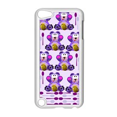 Fms Honey Bear With Spoons Apple iPod Touch 5 Case (White)