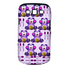 Fms Honey Bear With Spoons Samsung Galaxy S III Classic Hardshell Case (PC+Silicone)