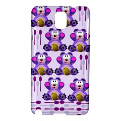 Fms Honey Bear With Spoons Samsung Galaxy Note 3 N9005 Hardshell Case
