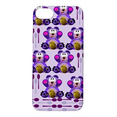 Fms Honey Bear With Spoons Apple Iphone 5s Hardshell Case