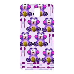 Fms Honey Bear With Spoons Samsung Galaxy Note 3 N9005 Hardshell Back Case