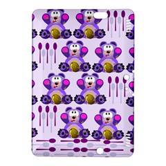 Fms Honey Bear With Spoons Kindle Fire Hdx 8 9  Hardshell Case
