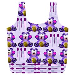 Fms Honey Bear With Spoons Reusable Bag (XL)