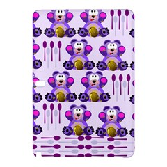 Fms Honey Bear With Spoons Samsung Galaxy Tab Pro 10.1 Hardshell Case