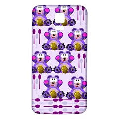 Fms Honey Bear With Spoons Samsung Galaxy S5 Back Case (white)