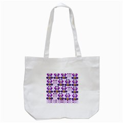 Fms Honey Bear With Spoons Tote Bag (White)