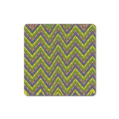 Zig Zag Pattern Magnet (square)