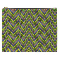 Zig zag pattern Cosmetic Bag (XXXL)