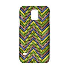 Zig zag pattern Samsung Galaxy S5 Hardshell Case