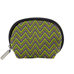 Zig Zag Pattern Accessory Pouch (small)