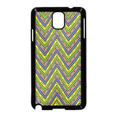 Zig zag pattern Samsung Galaxy Note 3 Neo Hardshell Case (Black)