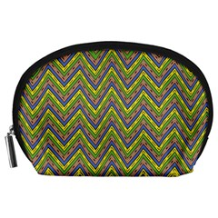 Zig Zag Pattern Accessory Pouch (large)