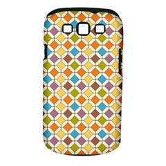 Colorful rhombus pattern Samsung Galaxy S III Classic Hardshell Case (PC+Silicone)