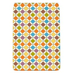 Colorful Rhombus Pattern Removable Flap Cover (large)