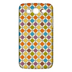 Colorful Rhombus Pattern Samsung Galaxy Mega 5 8 I9152 Hardshell Case