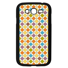 Colorful Rhombus Pattern Samsung Galaxy Grand Duos I9082 Case (black)