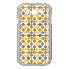 Colorful rhombus pattern Samsung Galaxy Grand DUOS I9082 Case (White)