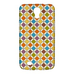 Colorful Rhombus Pattern Samsung Galaxy Mega 6 3  I9200 Hardshell Case