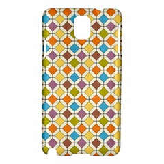 Colorful rhombus pattern Samsung Galaxy Note 3 N9005 Hardshell Case