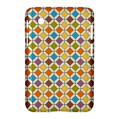 Colorful rhombus pattern Samsung Galaxy Tab 2 (7 ) P3100 Hardshell Case