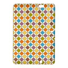 Colorful rhombus pattern Kindle Fire HDX 8.9  Hardshell Case