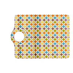 Colorful rhombus pattern Kindle Fire HD (2013) Flip 360 Case
