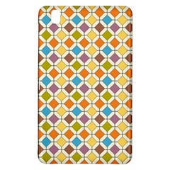 Colorful Rhombus Pattern Samsung Galaxy Tab Pro 8 4 Hardshell Case