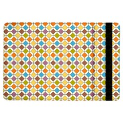 Colorful rhombus pattern Apple iPad Air Flip Case