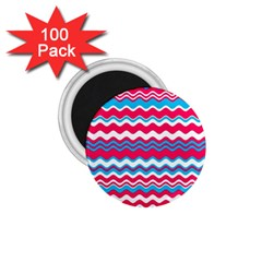 Waves Pattern 1 75  Magnet (100 Pack)