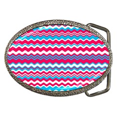 Waves pattern Belt Buckle