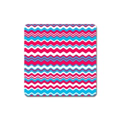 Waves Pattern Magnet (square)