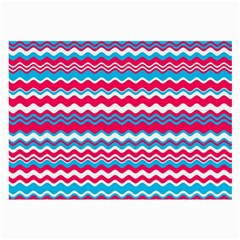 Waves Pattern Glasses Cloth (large, Two Sides)