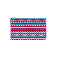Waves Pattern Cosmetic Bag (small)