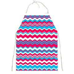 Waves pattern Full Print Apron