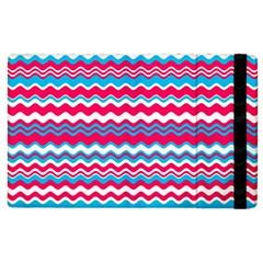 Waves Pattern Apple Ipad 3/4 Flip Case