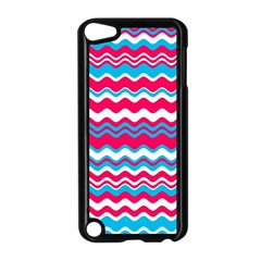 Waves Pattern Apple Ipod Touch 5 Case (black)