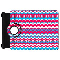 Waves pattern Kindle Fire HD Flip 360 Case