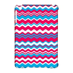 Waves pattern Apple iPad Mini Hardshell Case (Compatible with Smart Cover)