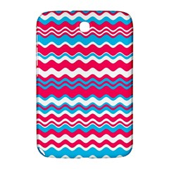 Waves Pattern Samsung Galaxy Note 8 0 N5100 Hardshell Case
