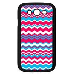 Waves Pattern Samsung Galaxy Grand Duos I9082 Case (black)