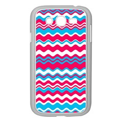 Waves pattern Samsung Galaxy Grand DUOS I9082 Case (White)