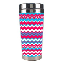 Waves pattern Stainless Steel Travel Tumbler