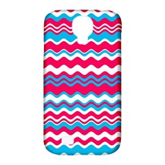 Waves Pattern Samsung Galaxy S4 Classic Hardshell Case (pc+silicone)