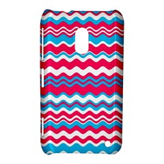 Waves pattern Nokia Lumia 620 Hardshell Case