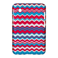 Waves Pattern Samsung Galaxy Tab 2 (7 ) P3100 Hardshell Case
