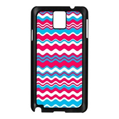 Waves pattern Samsung Galaxy Note 3 N9005 Case (Black)