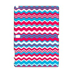 Waves Pattern Samsung Galaxy Note 10 1 (p600) Hardshell Case