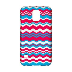 Waves Pattern Samsung Galaxy S5 Hardshell Case