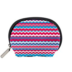 Waves Pattern Accessory Pouch (small)