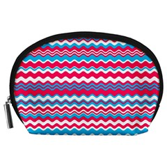 Waves pattern Accessory Pouch (Large)